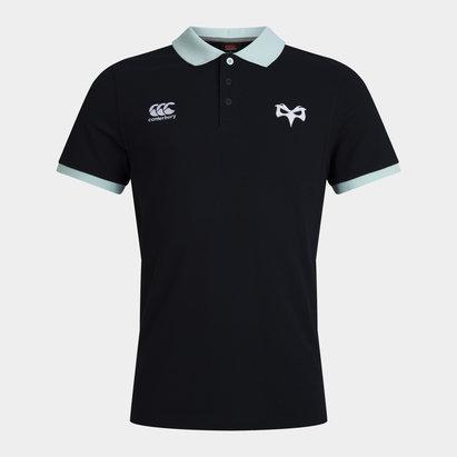 Canterbury Ospreys Cotton Polo Shirt 20/21