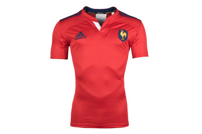 adidas France Authentic S/S Rugby Training Shirt