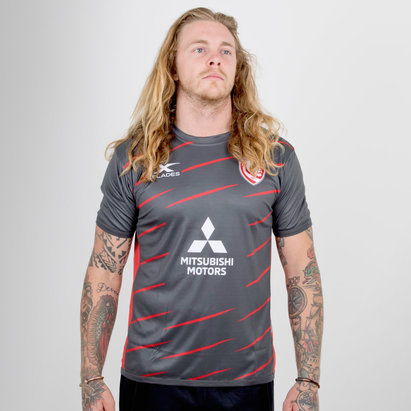 X Blades Gloucester 2018/19 Players Rugby Training T-Shirt