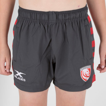 X Blades Gloucester 2018/19 Kids Rugby Training Shorts