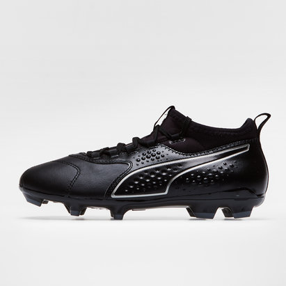 Puma One 3 Leather FG Kids Football Boots