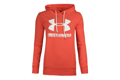 Under Armour Womens Favourite Logo Fleece Hooded Sweat