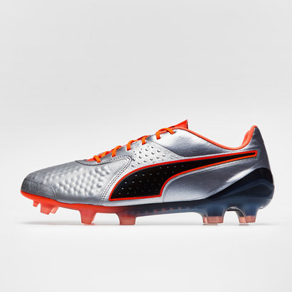 Puma One 1 Leather Low FG Football Boots