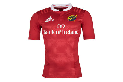 adidas Munster 2015/16 Home Players Authentic S/S Rugby Shirt