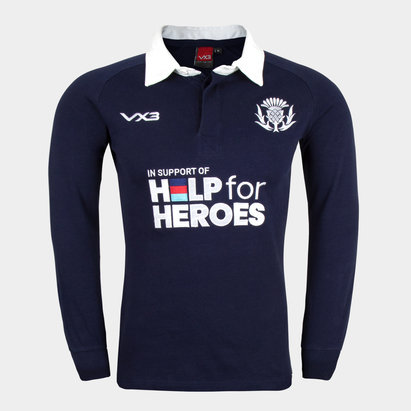 VX-3 Help 4 Heroes Scotland Long Sleeve Jersey Mens