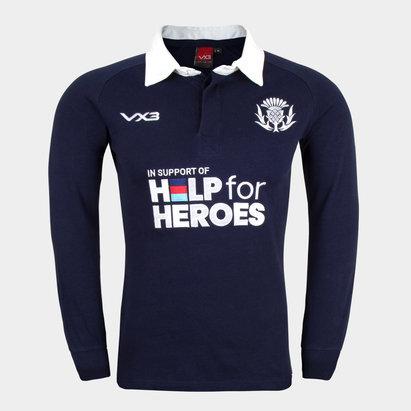 VX-3 Help 4 Heroes Scotland Long Sleeve Jersey Mens