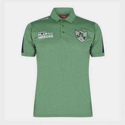 VX-3 Help 4 Heroes Ireland Polo Shirt Mens