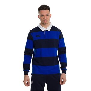 Canterbury Long Sleeve Retro Jersey Mens