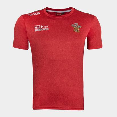 VX-3 Help 4 Heroes Wales T Shirt Mens