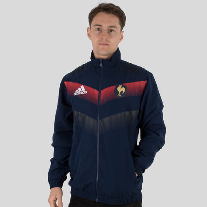 adidas France 2018 Players Presentation Rugby Jacket