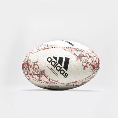 adidas New Zealand All Blacks 2018 Mini Rugby Ball