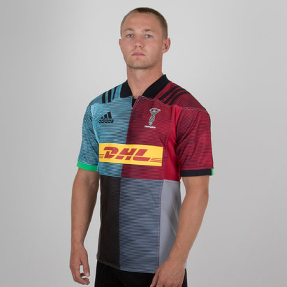 adidas Harlequins 2018/19 Home S/S Replica Shirt
