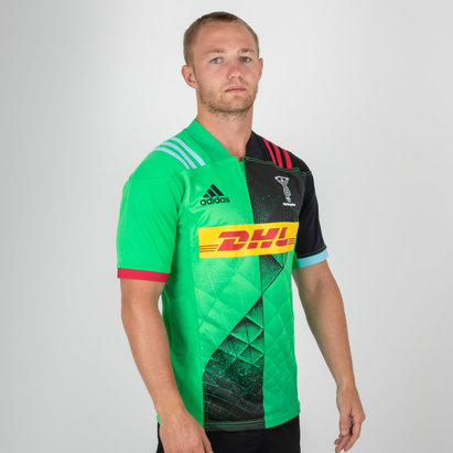 6029eaa76 adidas Harlequins 2018 19 Alternate S S Replica Shirt