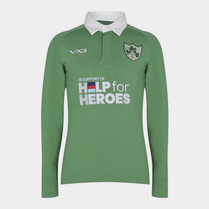 VX-3 Help 4 Heroes Ireland Long Sleeve Jersey Mens
