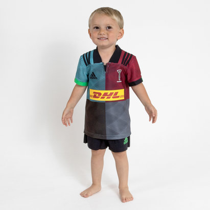 12a978ea806 adidas Harlequins 2018/19 Kids Home Replica Rugby Kit