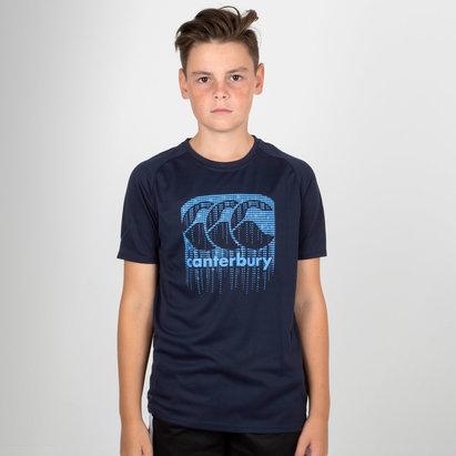 Canterbury Vapodri Poly Logo Kids T-Shirt