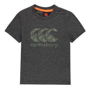 Canterbury Boys Logo Tee