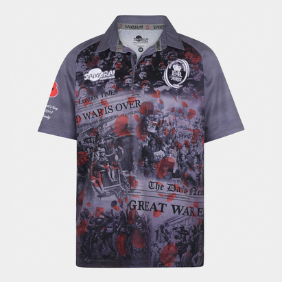 Samurai Army Rugby Union WWI Commemorative Rugby Shirt