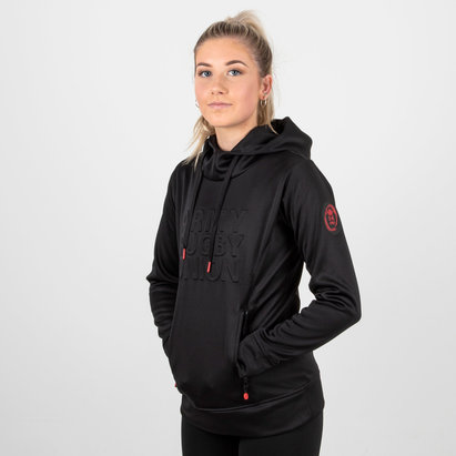 Samurai Army Rugby Union Ladies Embossed Impact Hooded Rugby Sweat