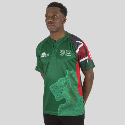 Samurai Kenya 7s 2017/18 Alternate S/S Replica Rugby Shirt