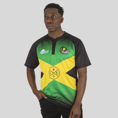 Samurai Jamaica 7s 2017/18 Home S/S Replica Rugby Shirt