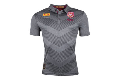 ISC Queensland State Of Origin 2018 NRL Rugby Polo Shirt
