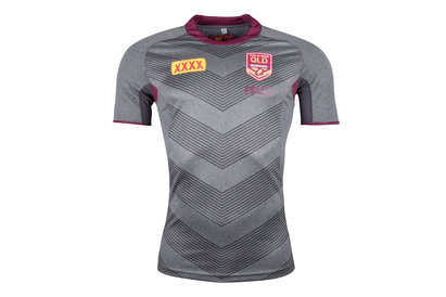 ISC Queensland State Of Origin 2018 NRL Rugby Training T-Shirt