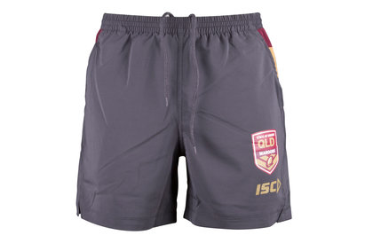 ISC Queensland State Of Origin 2018 NRL Rugby Training Shorts