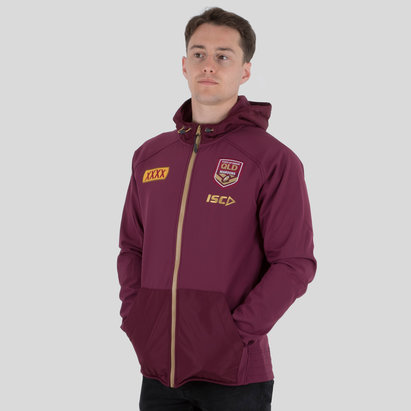 ISC Queensland State Of Origin 2018 NRL Hooded Rugby Sweat