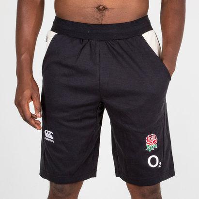 England 2018/19 Fleece Rugby Training Shorts