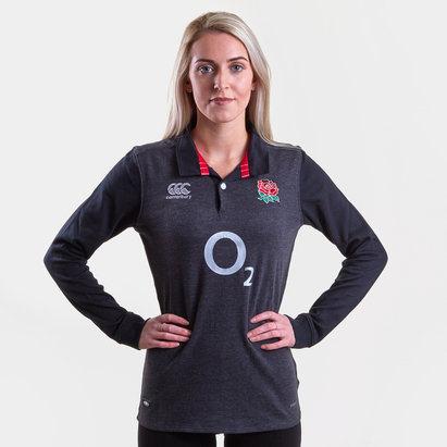 Canterbury England 2018/19 Ladies Alternate Classic L/S Rugby Shirt
