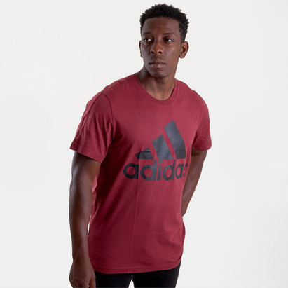 adidas Essentials Short Sleeve T Shirt Mens