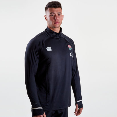 Canterbury England 2018/19 Players Elite First Layer Rugby Training Top