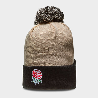 Canterbury England 2018/19 Acrylic Rugby Bobble Hat