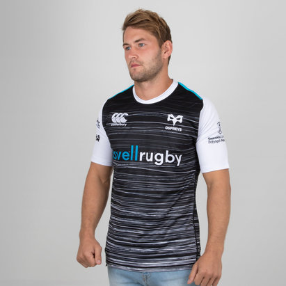 Canterbury Ospreys 2018/19 Home S/S Pro Rugby Shirt