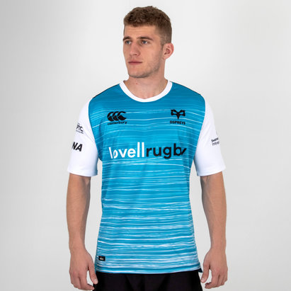 Canterbury Ospreys 2018/19 Alternate S/S Pro Rugby Shirt