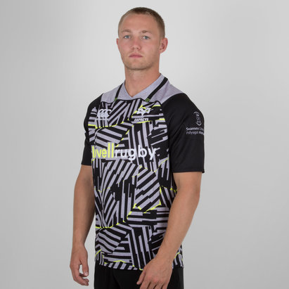Canterbury Ospreys 2018/19 3rd S/S Pro Rugby Shirt
