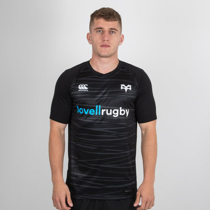 Canterbury Ospreys 2018/19 Players Superlight Rugby Training T-Shirt