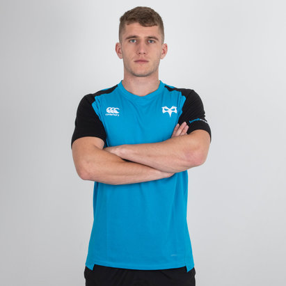 Canterbury Ospreys 2018/19 Performance Cotton Rugby T-Shirt