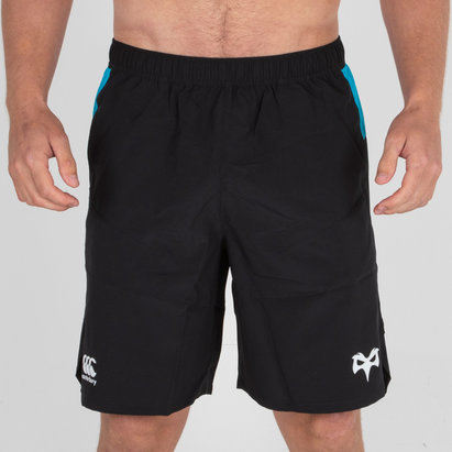 Canterbury Ospreys 2018/19 Players Woven Rugby Gym Training Shorts