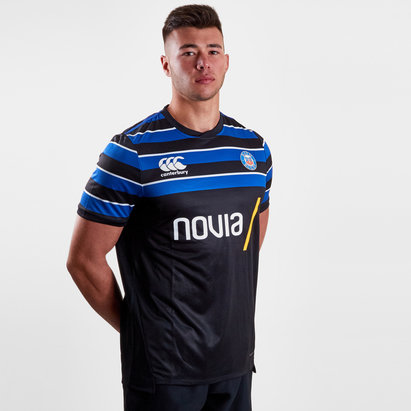 Canterbury Bath 2018/19 Players Drill Rugby Training T-Shirt