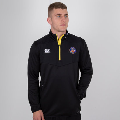 Canterbury Bath 2018/19 Players 1/4 Zip Training Top