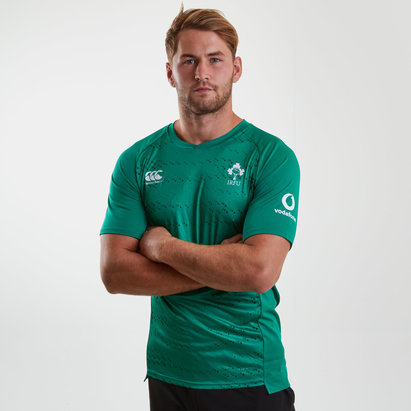 Canterbury Ireland IRFU 2018/19 Superlight Rugby Training T-Shirt