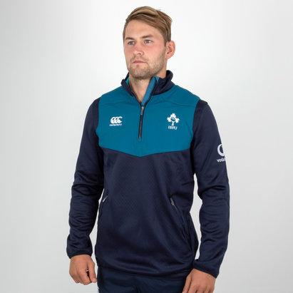 Canterbury Ireland IRFU 2018/19 Players 1/4 Zip Rugby Training Top