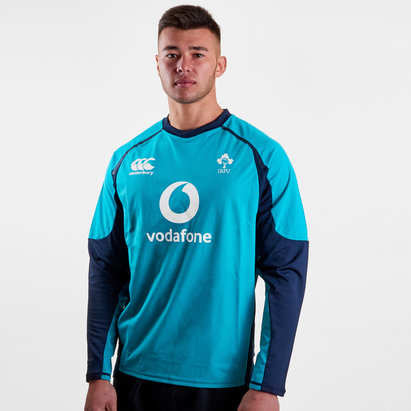 Canterbury Ireland IRFU 2018/19 Players Drill Rugby Training Top