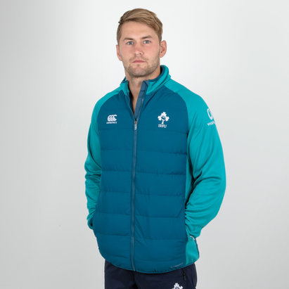 Canterbury Ireland IRFU 2018/19 Players Hybrid Rugby Jacket