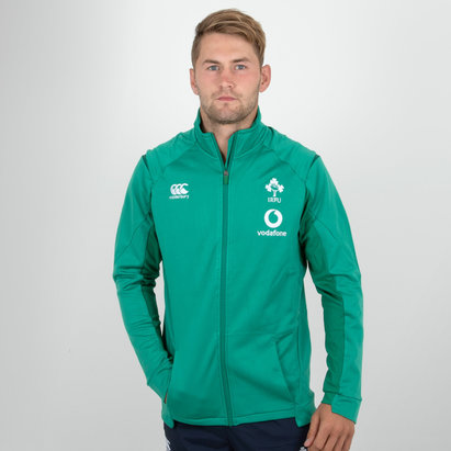 Canterbury Ireland IRFU 2018/19 Players Anthem Rugby Jacket