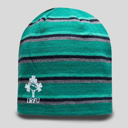 Canterbury Ireland IRFU 2018/19 Fleece Rugby Beanie Hat