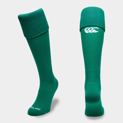 Canterbury Ireland IRFU 2018/19 Home Rugby Socks