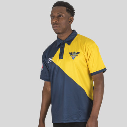 X Blades Glendale Raptors MLR 2018 Players Rugby Polo Shirt